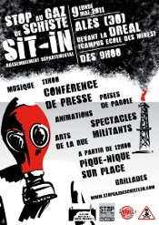 Affiche sit-in DREAL